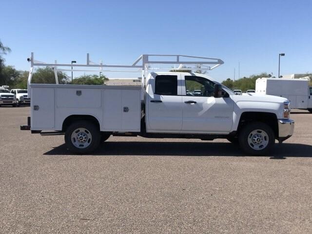 2019 Silverado 2500 Double Cab 4x2,  Harbor TradeMaster Service Body #K1215630 - photo 6