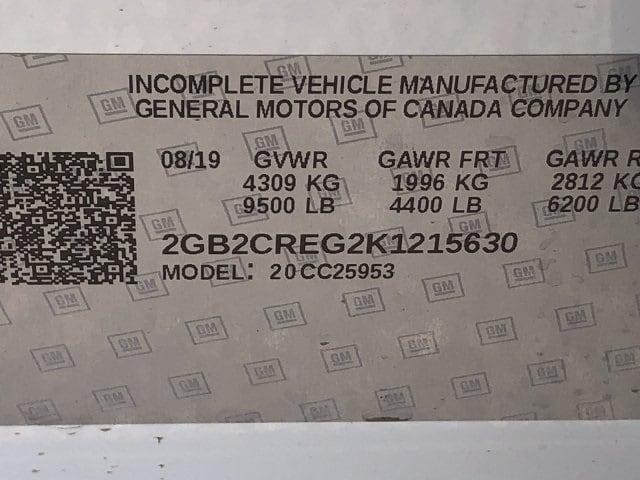 2019 Silverado 2500 Double Cab 4x2,  Harbor TradeMaster Service Body #K1215630 - photo 19