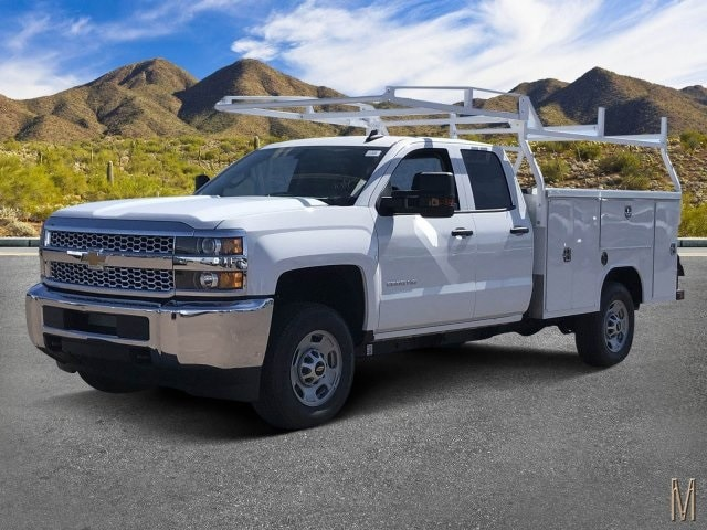 2019 Silverado 2500 Double Cab 4x2, Harbor Service Body #K1215630 - photo 1