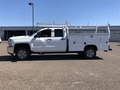 2019 Silverado 2500 Double Cab 4x2,  Harbor TradeMaster Service Body #K1215630 - photo 3