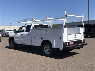 2019 Silverado 2500 Double Cab 4x2,  Harbor TradeMaster Service Body #K1215630 - photo 2