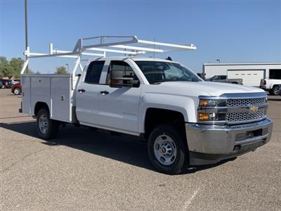 2019 Silverado 2500 Double Cab 4x2, Harbor TradeMaster Service Body #K1216360 - photo 3