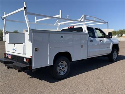 2019 Silverado 2500 Double Cab 4x2, Harbor TradeMaster Service Body #K1216360 - photo 5