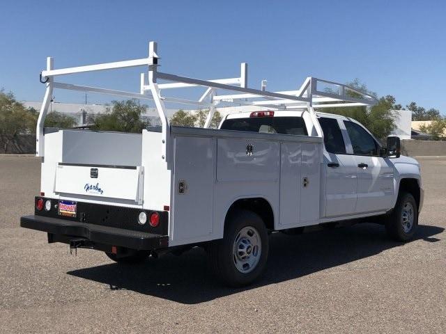 2019 Silverado 2500 Double Cab 4x2,  Harbor TradeMaster Service Body #K1216722 - photo 5