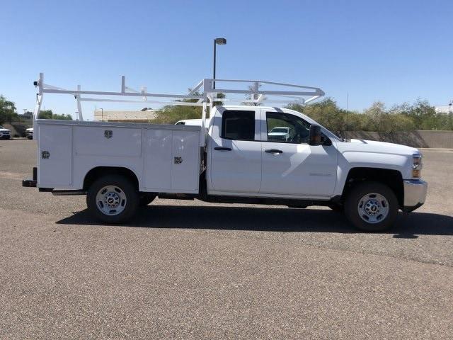 2019 Silverado 2500 Double Cab 4x2,  Harbor TradeMaster Service Body #K1216722 - photo 6