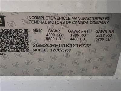 2019 Silverado 2500 Double Cab 4x2,  Harbor TradeMaster Service Body #K1216722 - photo 19