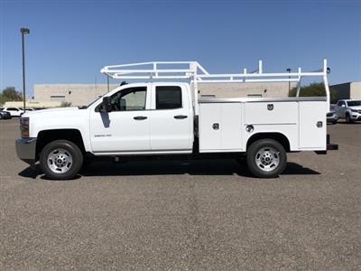 2019 Silverado 2500 Double Cab 4x2,  Harbor TradeMaster Service Body #K1216722 - photo 3