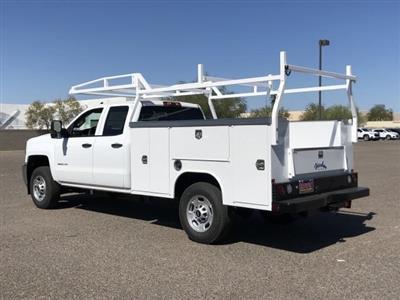 2019 Silverado 2500 Double Cab 4x2,  Harbor TradeMaster Service Body #K1216722 - photo 2