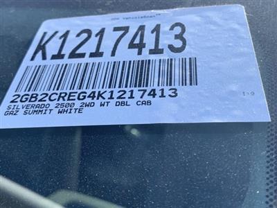 2019 Silverado 2500 Double Cab 4x2, Harbor TradeMaster Service Body #K1217413 - photo 21