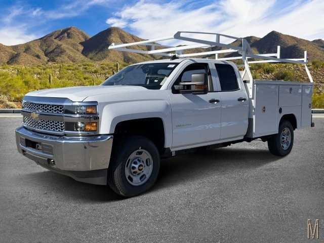 2019 Silverado 2500 Double Cab 4x2, Harbor Service Body #K1219190 - photo 1