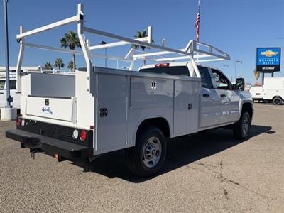 2019 Silverado 2500 Double Cab 4x2, Harbor TradeMaster Service Body #K1224407 - photo 4