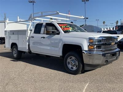 2019 Silverado 2500 Double Cab 4x2, Harbor TradeMaster Service Body #K1224407 - photo 3