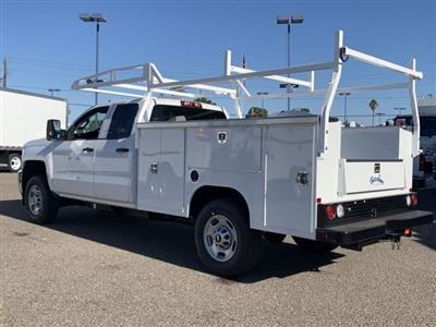 2019 Silverado 2500 Double Cab 4x2, Harbor TradeMaster Service Body #K1224407 - photo 2