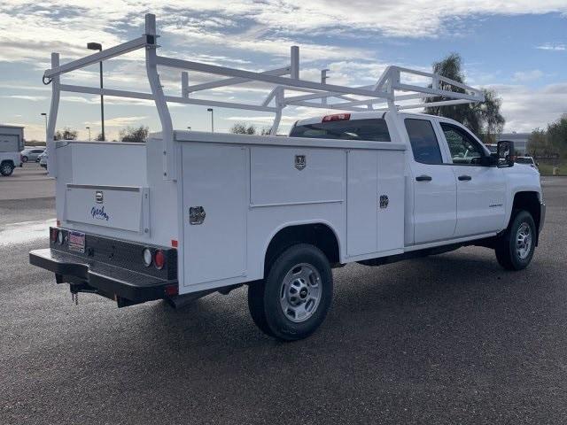 2019 Silverado 2500 Double Cab 4x2, Harbor TradeMaster Service Body #K1224555 - photo 6