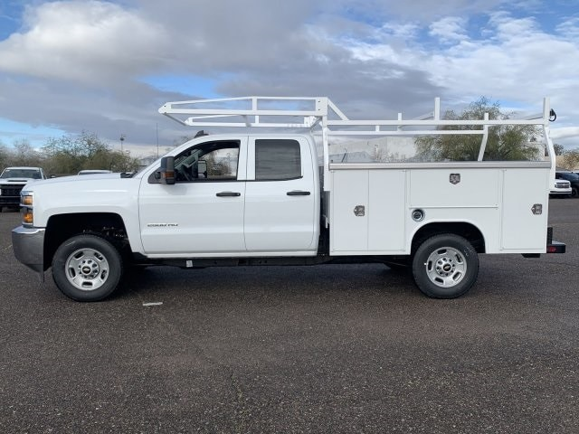 2019 Silverado 2500 Double Cab 4x2, Harbor TradeMaster Service Body #K1224555 - photo 7
