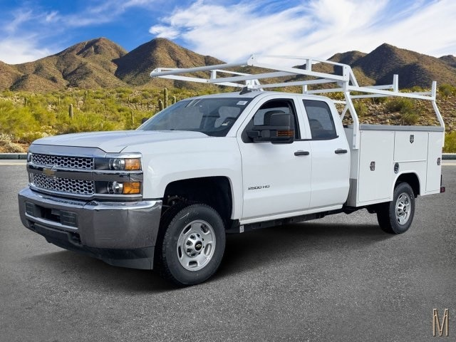 2019 Silverado 2500 Double Cab 4x2, Harbor Service Body #K1224555 - photo 1