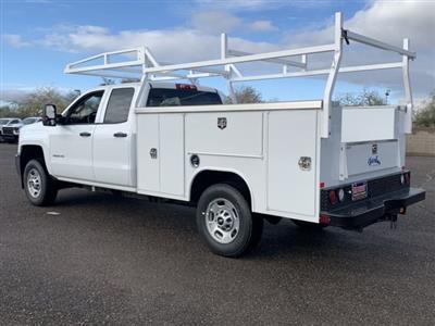 2019 Silverado 2500 Double Cab 4x2, Harbor TradeMaster Service Body #K1224555 - photo 2