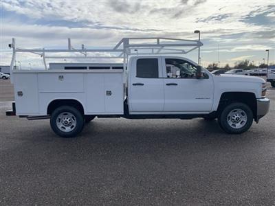 2019 Silverado 2500 Double Cab 4x2, Harbor TradeMaster Service Body #K1224555 - photo 8