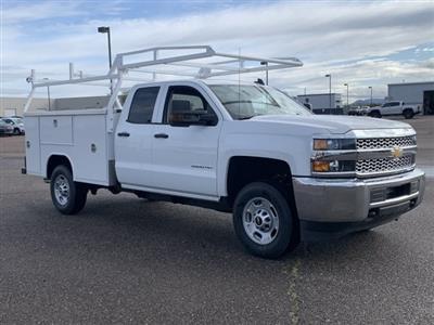2019 Silverado 2500 Double Cab 4x2, Harbor TradeMaster Service Body #K1224555 - photo 3