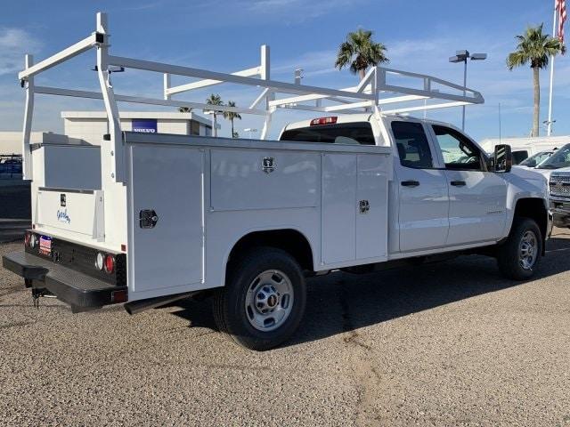 2019 Silverado 2500 Double Cab 4x2, Harbor TradeMaster Service Body #K1224867 - photo 6
