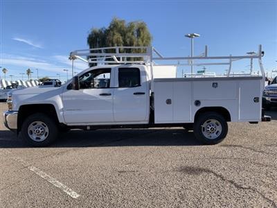 2019 Silverado 2500 Double Cab 4x2, Harbor TradeMaster Service Body #K1224867 - photo 7