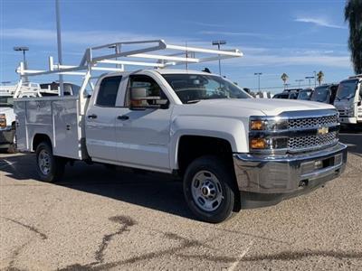 2019 Silverado 2500 Double Cab 4x2, Harbor TradeMaster Service Body #K1224867 - photo 3