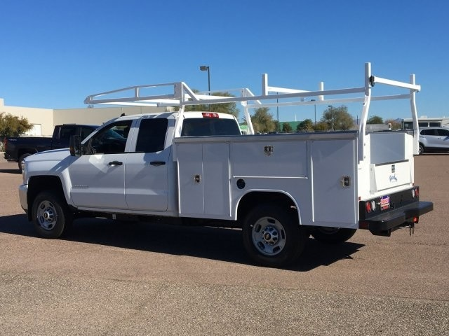 2019 Silverado 2500 Double Cab 4x2, Harbor Service Body #K1224978 - photo 1