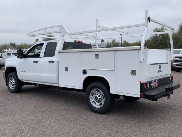 2019 Silverado 2500 Double Cab 4x2, Harbor Service Body #K1225014 - photo 1