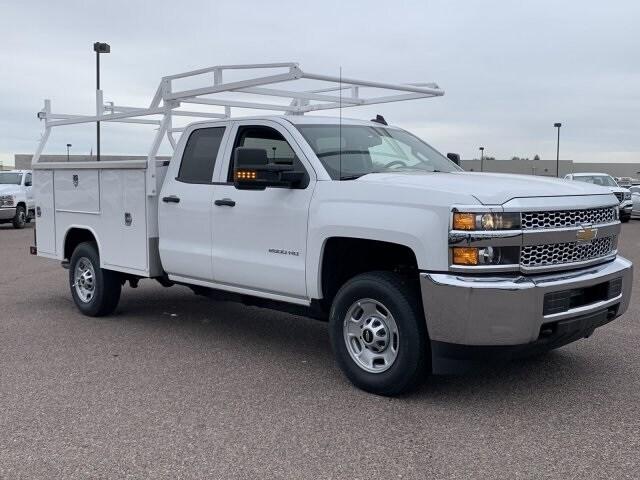 2019 Silverado 2500 Double Cab 4x2, Harbor TradeMaster Service Body #K1225014 - photo 3