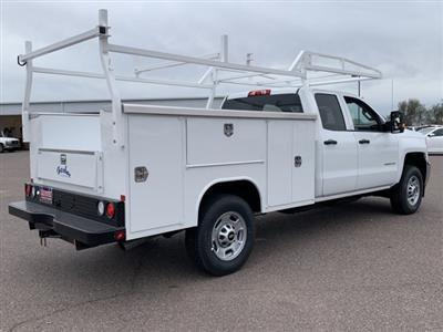 2019 Silverado 2500 Double Cab 4x2, Harbor TradeMaster Service Body #K1225014 - photo 6