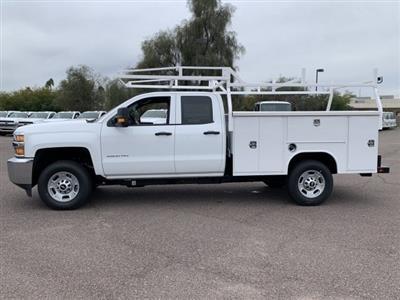2019 Silverado 2500 Double Cab 4x2, Harbor TradeMaster Service Body #K1225014 - photo 7