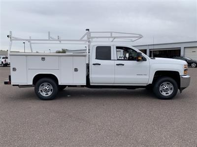 2019 Silverado 2500 Double Cab 4x2, Harbor TradeMaster Service Body #K1225014 - photo 8