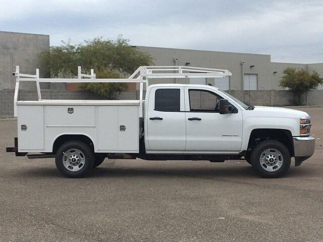2019 Silverado 2500 Double Cab 4x2, Harbor TradeMaster Service Body #K1225026 - photo 6