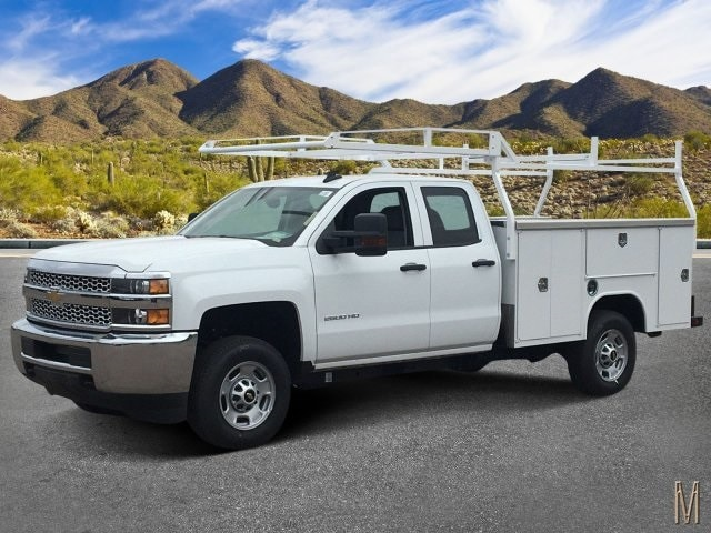 2019 Silverado 2500 Double Cab 4x2, Harbor Service Body #K1225026 - photo 1