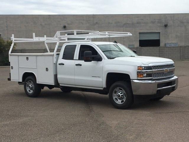 2019 Silverado 2500 Double Cab 4x2, Harbor TradeMaster Service Body #K1225026 - photo 3