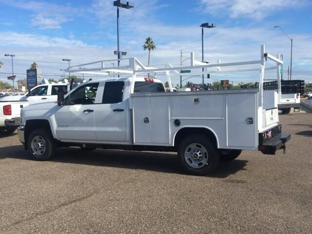 2019 Silverado 2500 Double Cab 4x2, Harbor Service Body #K1225506 - photo 1