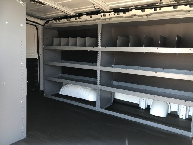 2019 Express 2500 4x2,  Masterack Steel General Service Upfitted Cargo Van #K1228773 - photo 10