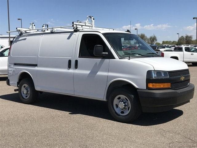 2019 Express 2500 4x2,  Masterack Steel PHVAC Upfitted Cargo Van #K1240602 - photo 3