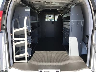 2019 Express 2500 4x2,  Masterack Steel PHVAC Upfitted Cargo Van #K1240602 - photo 2