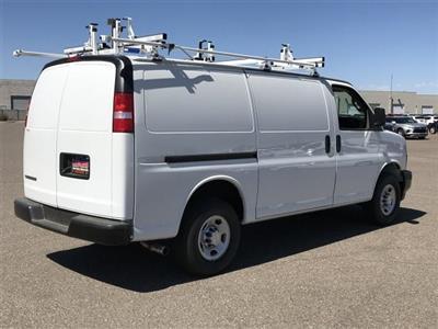 2019 Express 2500 4x2,  Masterack Steel PHVAC Upfitted Cargo Van #K1243009 - photo 4