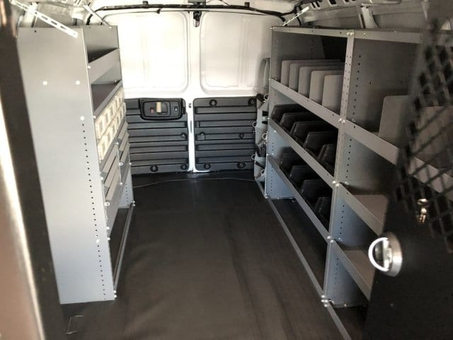 2019 Express 2500 4x2,  Masterack Upfitted Cargo Van #K1243830 - photo 1