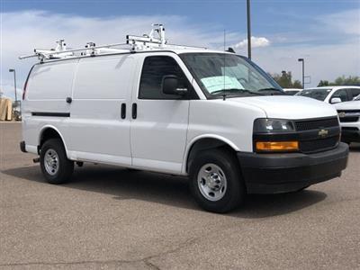 2019 Express 2500 4x2,  Masterack Steel PHVAC Upfitted Cargo Van #K1243830 - photo 9