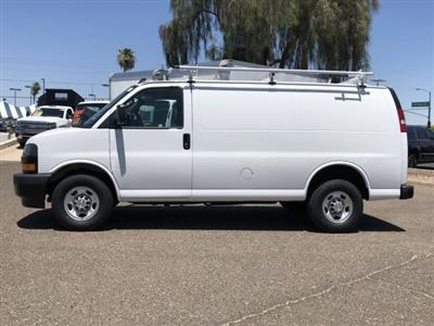 2019 Express 2500 4x2,  Masterack PHVAC Upfitted Cargo Van #K1243871 - photo 3