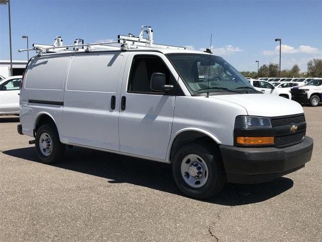 2019 Express 2500 4x2,  Masterack Steel PHVAC Upfitted Cargo Van #K1244097 - photo 3