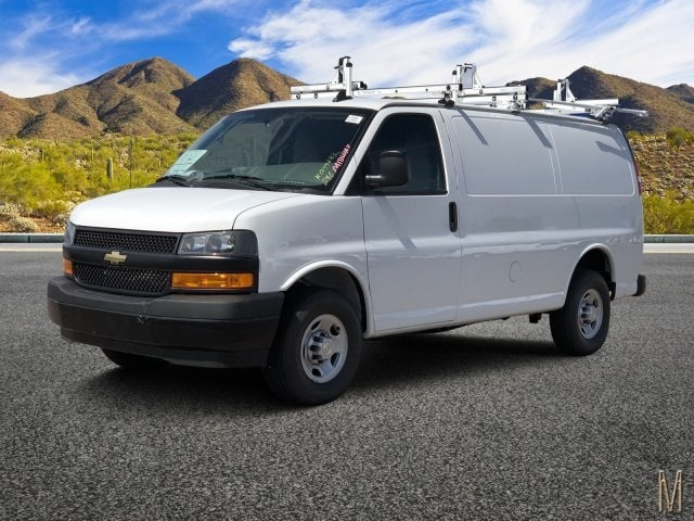 2019 Express 2500 4x2,  Masterack Steel PHVAC Upfitted Cargo Van #K1244693 - photo 1