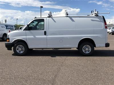 2019 Express 2500 4x2,  Masterack Steel PHVAC Upfitted Cargo Van #K1244693 - photo 3