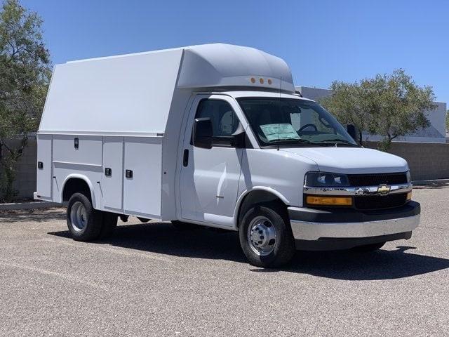 2019 Chevrolet Express 3500 4x2, Knapheide KUV Service Utility Van #K1257897 - photo 3