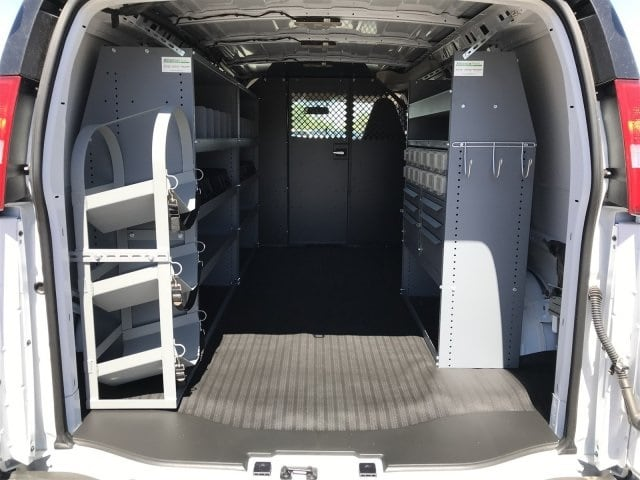 2019 Chevrolet Express 2500 4x2, Masterack Upfitted Cargo Van #K1270259 - photo 1