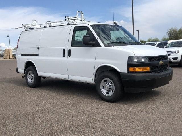 2019 Express 2500 4x2, Masterack Steel PHVAC Upfitted Cargo Van #K1270428 - photo 9
