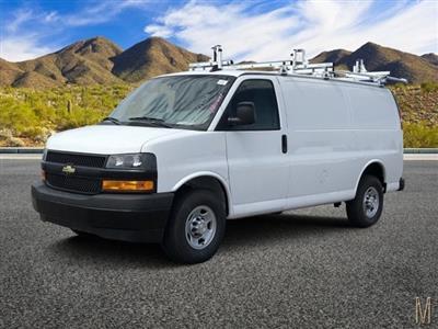 2019 Express 2500 4x2, Masterack Steel PHVAC Upfitted Cargo Van #K1270428 - photo 1